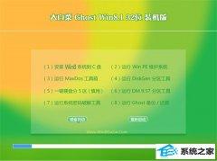 大白菜Win8.1 体验装机版32位 2021.04