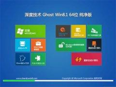 深度技术Win8.1 安全纯净版 2021.06(64位)